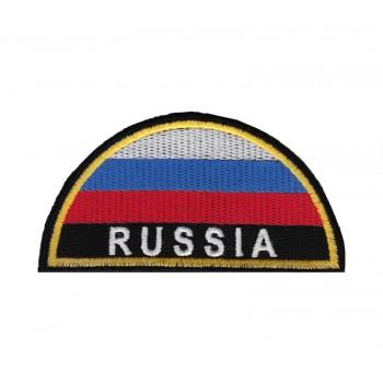 Шеврон МЧС RUSSIA полукруг, вышивка