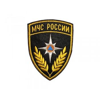 Шеврон МЧС РОССИИ вышивка